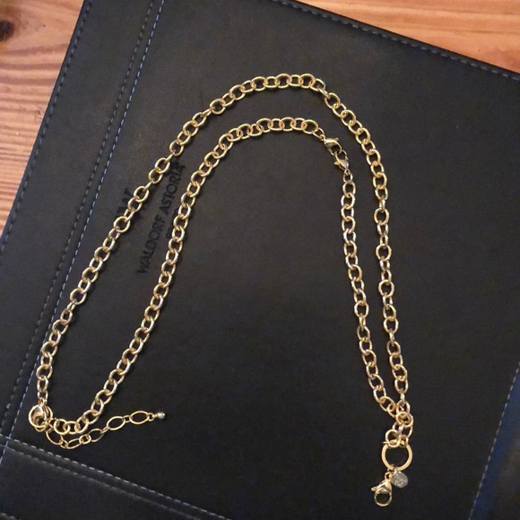 Origami Owl Jewelry Gold Over The Heart Chain Poshmark